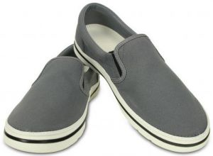 Crocs Tenisky Crocs Norlin Slip-On Men ` Charcoal / White 201084 41-42