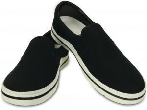 Crocs Tenisky Crocs Norlin Slip-On Men ` Black/White 201084 41-42