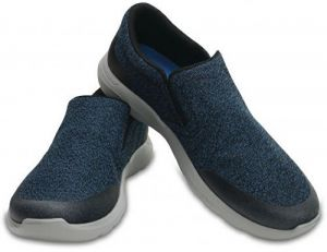 Crocs Tenisky Crocs Kinsale Static Slip-on Navy/Light Grey 203977-41S 43-44