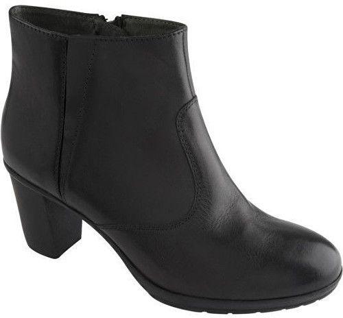 1306846a92 Scholl Kožené členkové topánky Orelle Memory Cushion Black F263671004 -  ZĽAVA značky Scholl - Lovely.sk