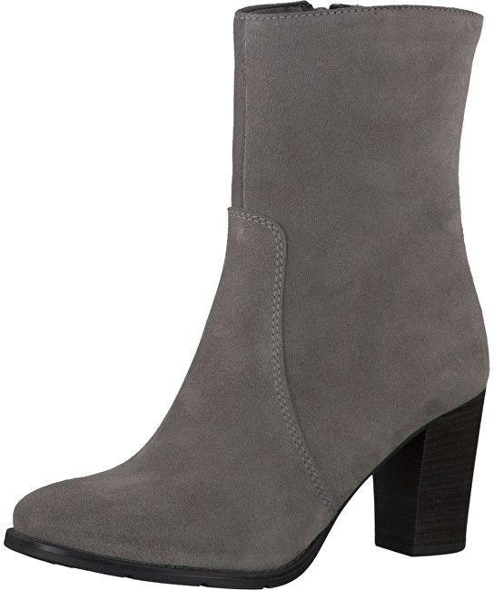 a5662dddf8ec Tamaris Elegantne dámske členkové topánky 1-1-25385-27 Cloud 39 značky  Tamaris - Lovely.sk