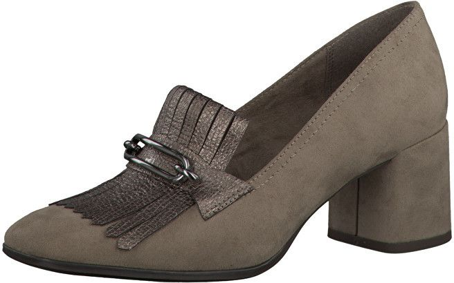 1225a9f494b4 Tamaris Elegantne dámske topánky 1-1-24322-37 Pepper Pewter 37 značky  Tamaris - Lovely.sk