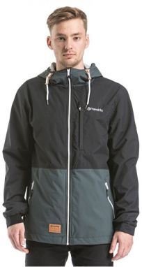 Meatfly Pánska bunda Finn Windbreaker B - Grey/Black S