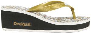 Desigual Dámske žabky Shoes Lola Save The Queen 74HSEE2 2000 39