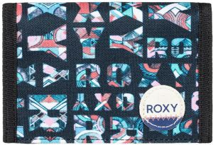 Roxy Peňaženka Beach Glass Anthracite Small Urb ERJAA03308-XKBM