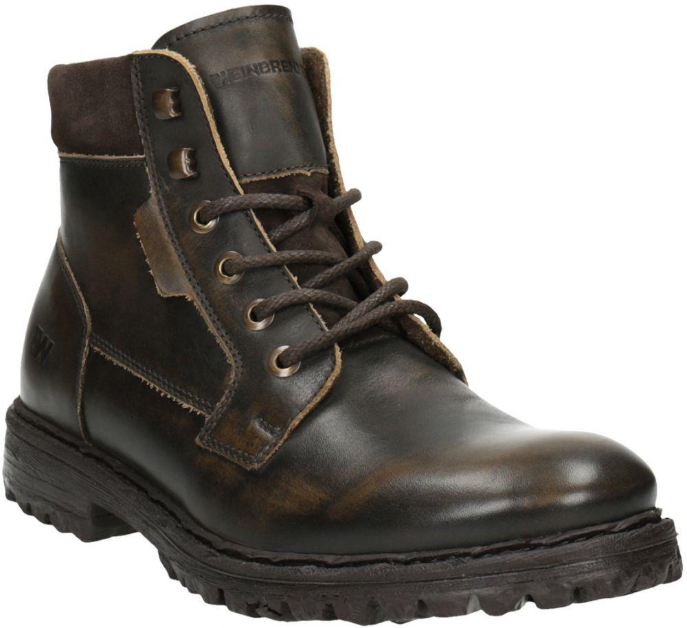 Pánska kožená členková obuv značky Weinbrenner - Lovely.sk c3eda37a911