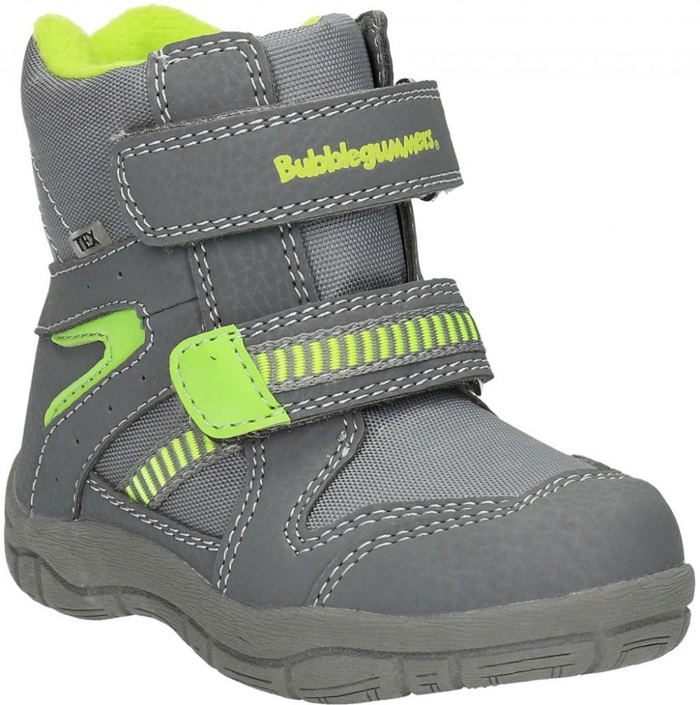 Detská zimná obuv s reflexnými detailami značky Bubblegummer - Lovely.sk fe8d8d996f7