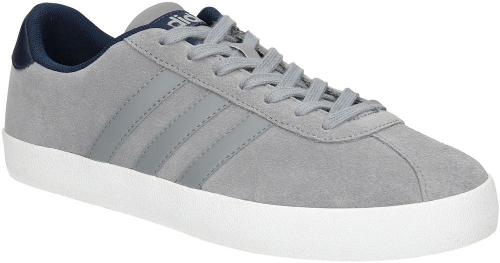 Šedé kožené tenisky značky Adidas - Lovely.sk aaad2a98b5