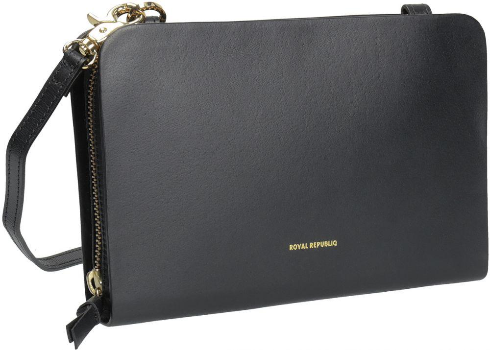 828a5cfb62 Kožená Crossbody kabelka čierna značky Royal RepubliQ - Lovely.sk