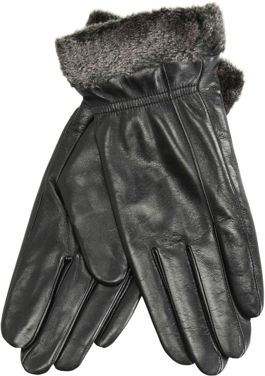 4f015100f Kožené dámske rukavice s kožušinkou značky Baťa - Lovely.sk