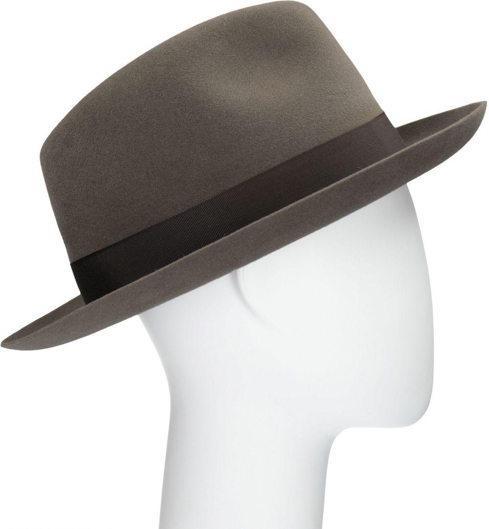 028c26676 Pánsky hnedý klobúk s mašľou značky Tonak - Lovely.sk