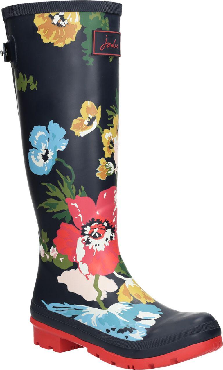 557dc7827b7cc Dámske gumáky s kvetmi značky Joules - Lovely.sk