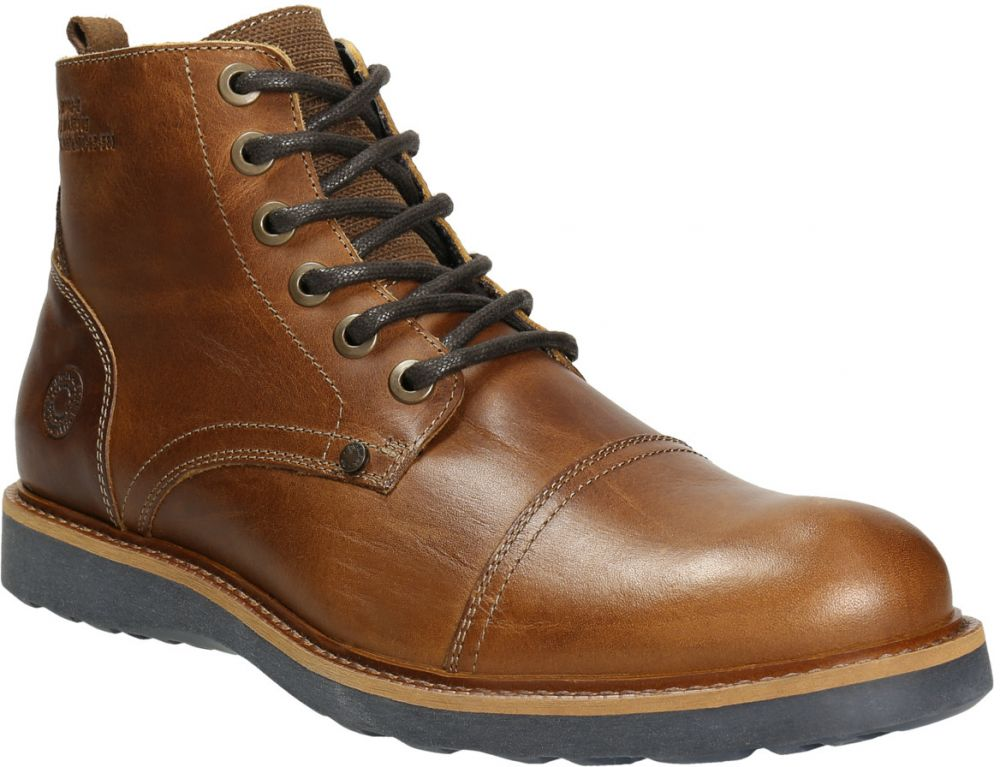 Hnedá kožená zimná obuv značky Baťa - Lovely.sk d43c7840b3b