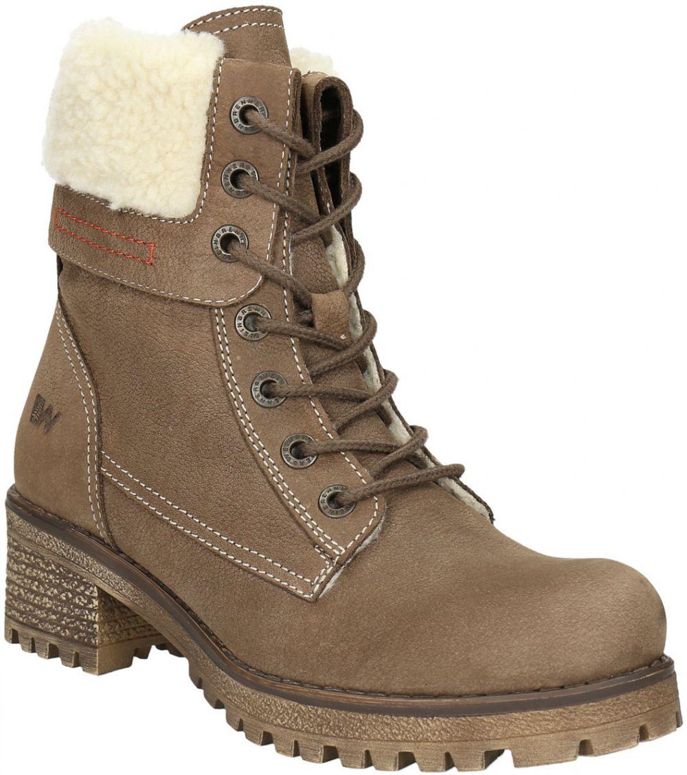 Kožená dámska zimná obuv značky Weinbrenner - Lovely.sk cb05644136d