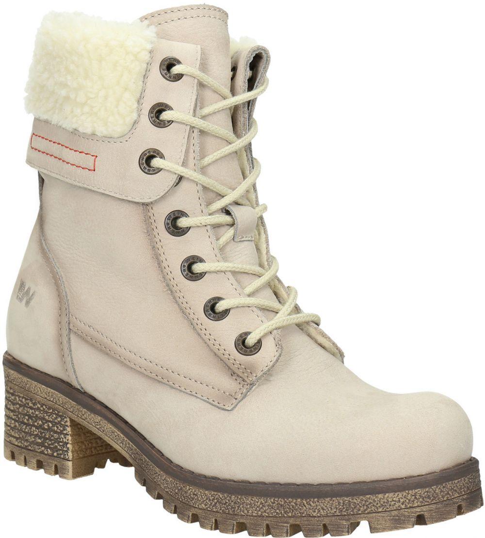 e7bca5c58c76 Kožená zimná obuv s kožúškom značky Baťa - Lovely.sk