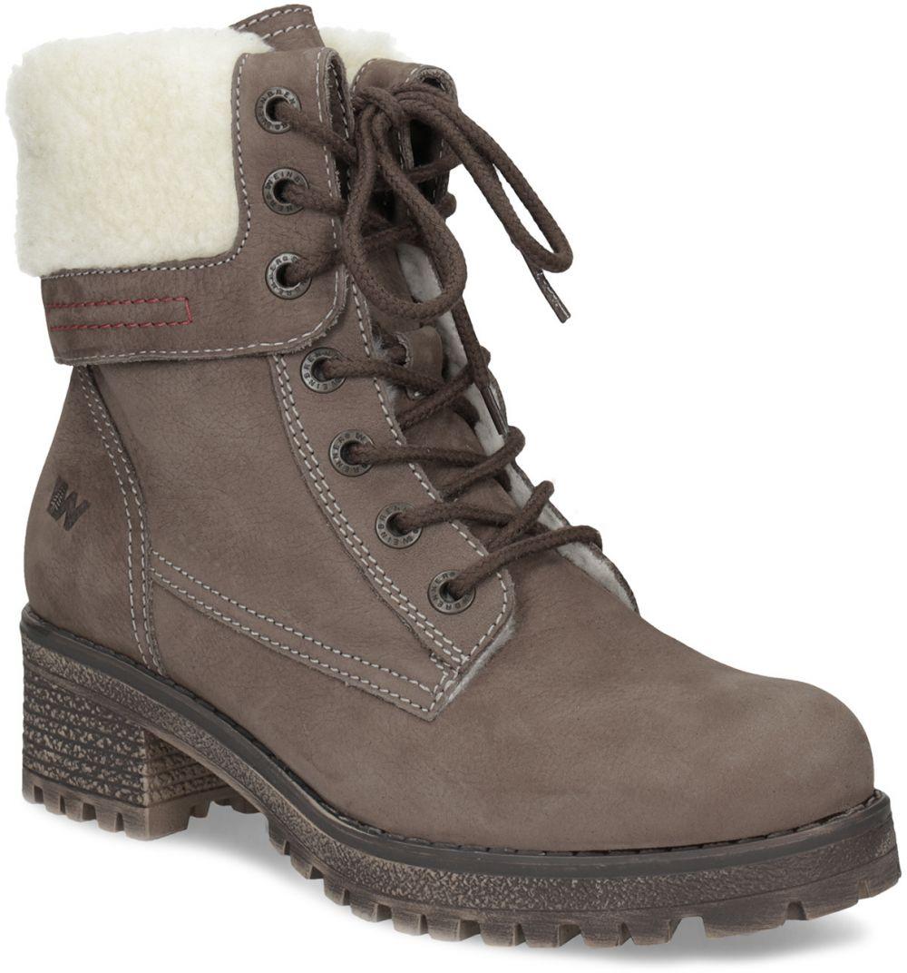 823b186fc7a05 Kožená dámska zimná obuv značky Weinbrenner - Lovely.sk