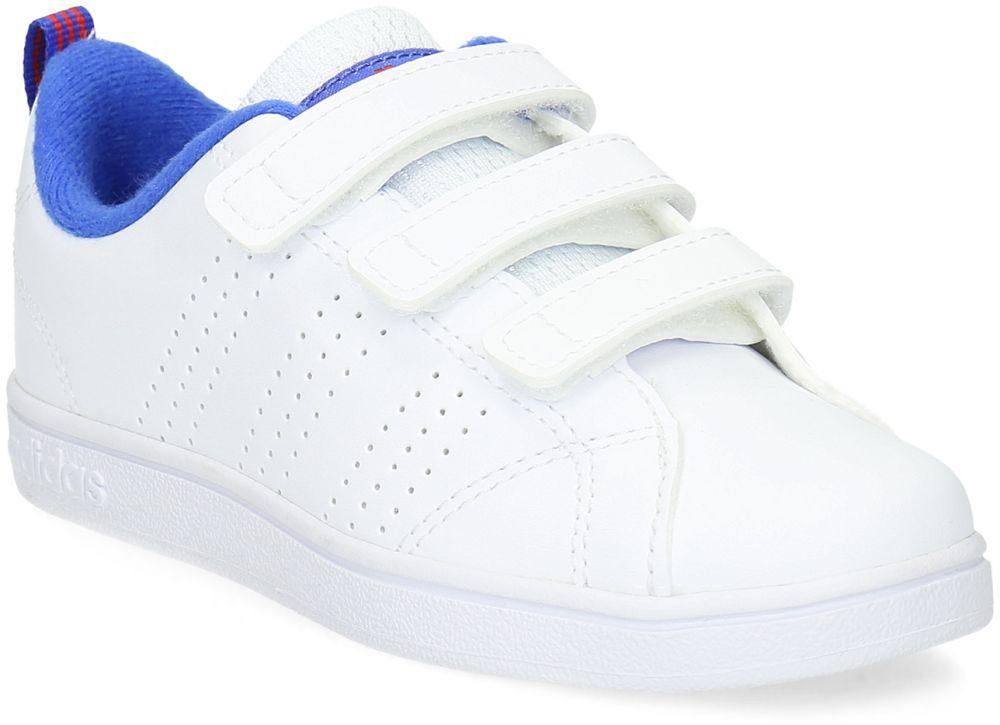 ba178b6a7d2f Biele detské tenisky na suchý zips značky Adidas - Lovely.sk