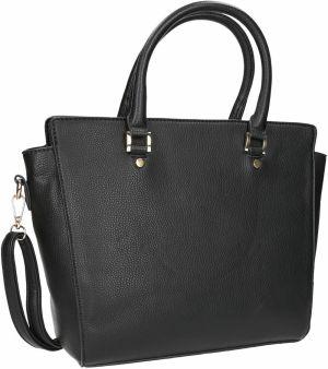 55786bc57 Čierna kabelka so zlatými detailami značky Baťa - Lovely.sk