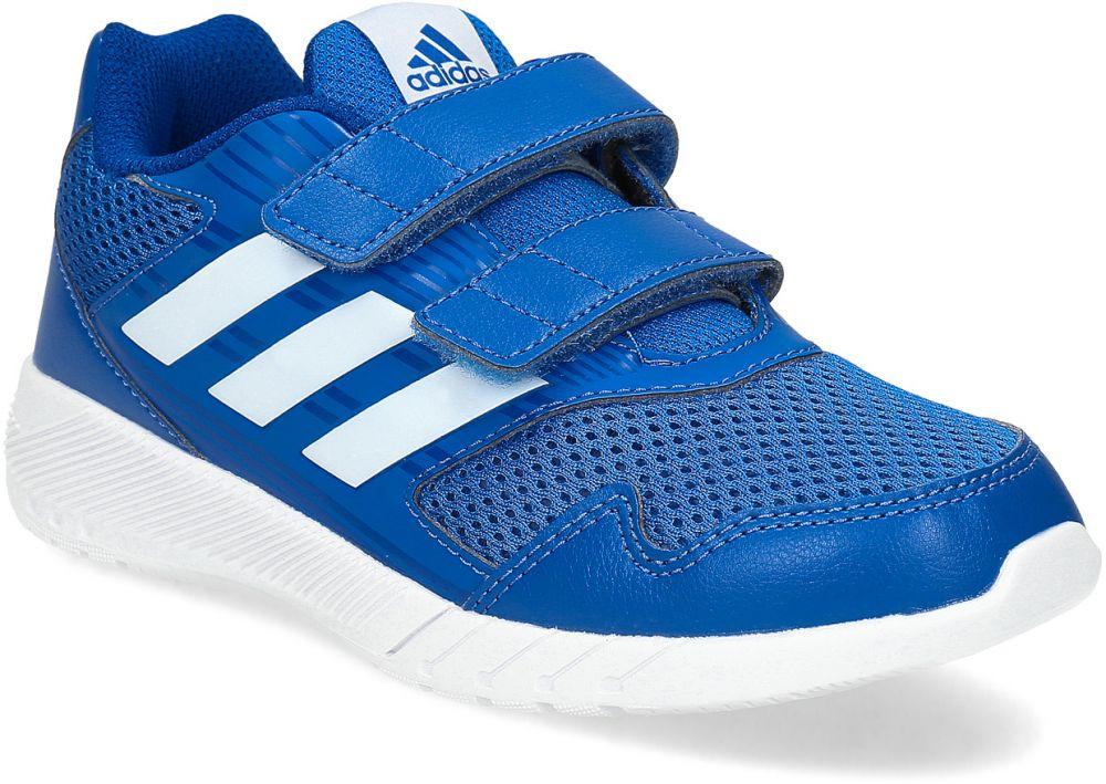 Modré detské tenisky na suchý zips značky Adidas - Lovely.sk bd4691790b8