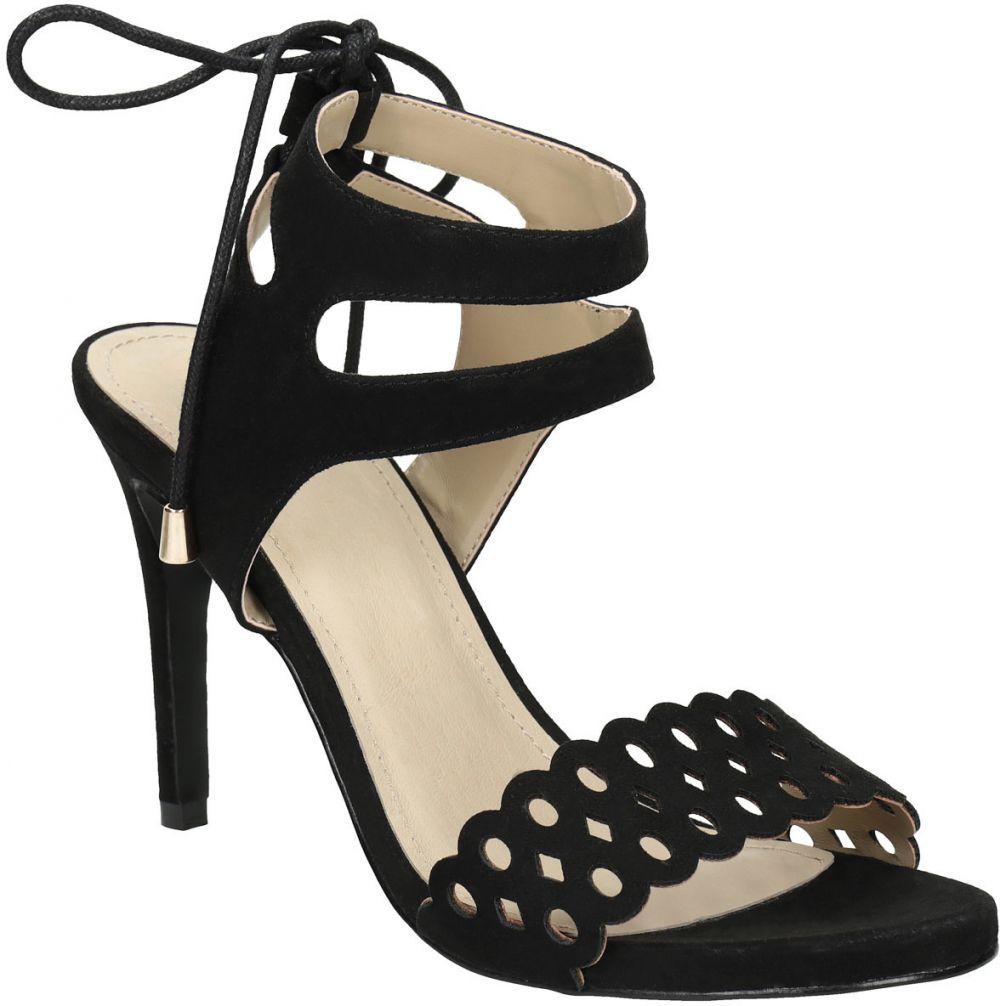 32b6d4fa0076 Čierne sandále na ihličkovom podpätku značky Baťa - Lovely.sk