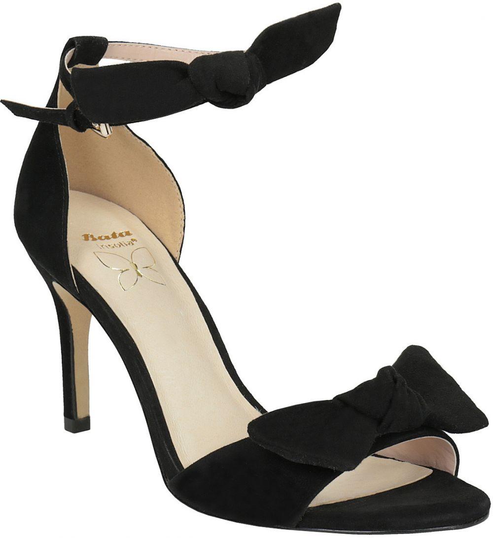 1f0171f7a6d4a Dámske čierne sandále na podpätku značky INSOLIA - Lovely.sk