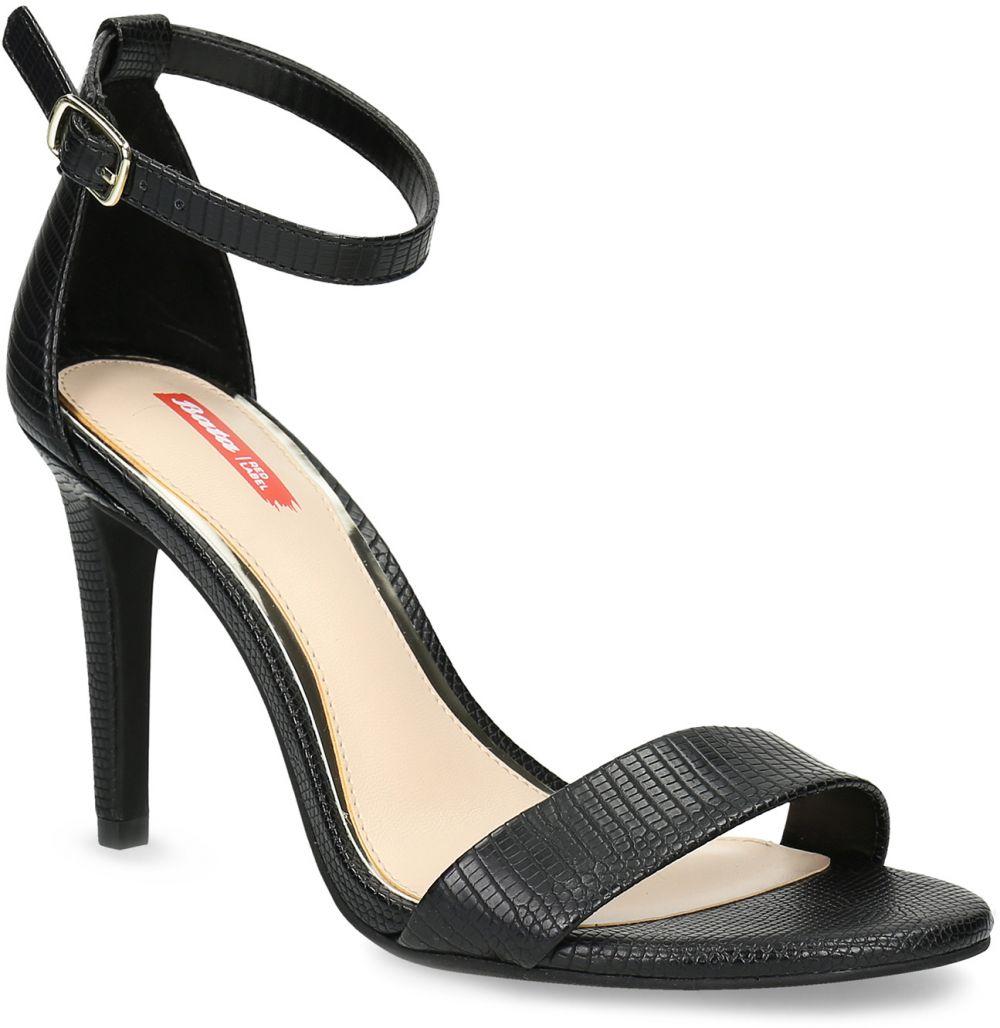 604364d40a38 Čierne sandále na ihličkovom podpätku značky Bata Red Label - Lovely.sk