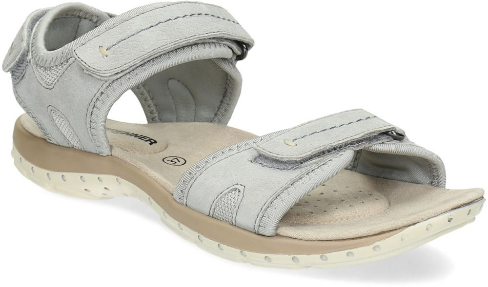 59396492c5c9 Kožené dámske sandále na suchý zips značky Weinbrenner - Lovely.sk