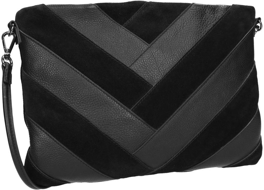 78204b645dff Čierna kožená listová kabelka značky Baťa - Lovely.sk