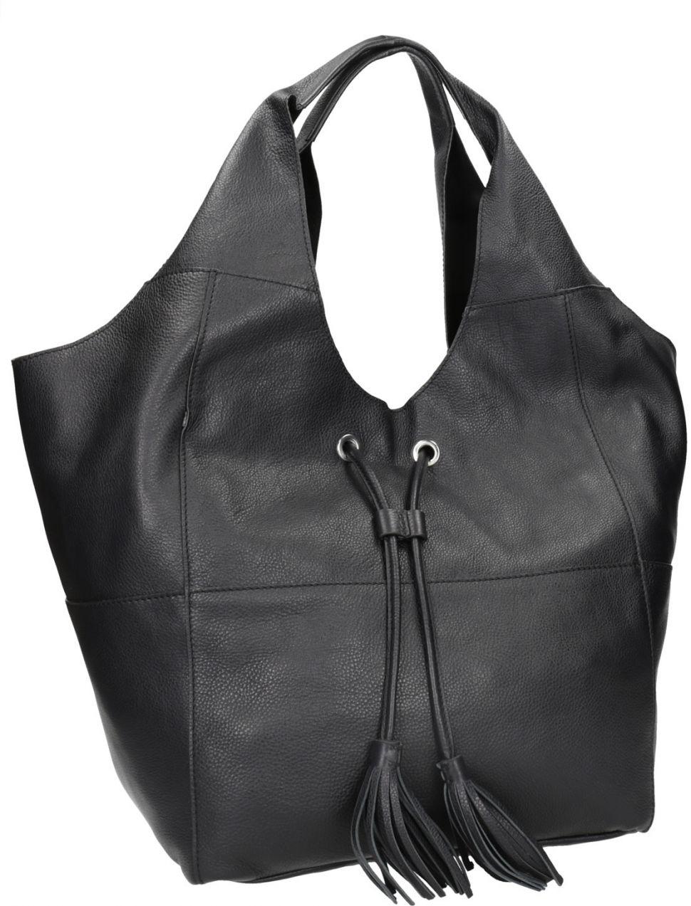 Kožená dámska kabelka so strapcami značky Baťa - Lovely.sk f325edd6307