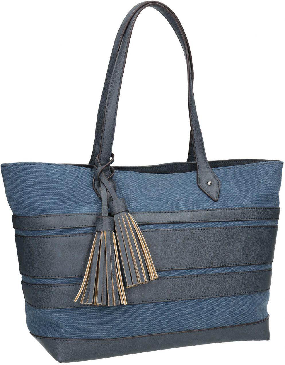 ab030e1ff2 Modrá dámska kabelka so strapcami značky Baťa - Lovely.sk