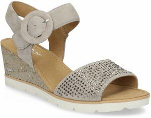 a92421ad1a79 CNB Béžové sandále na platforme s gumou značky CNB - Lovely.sk