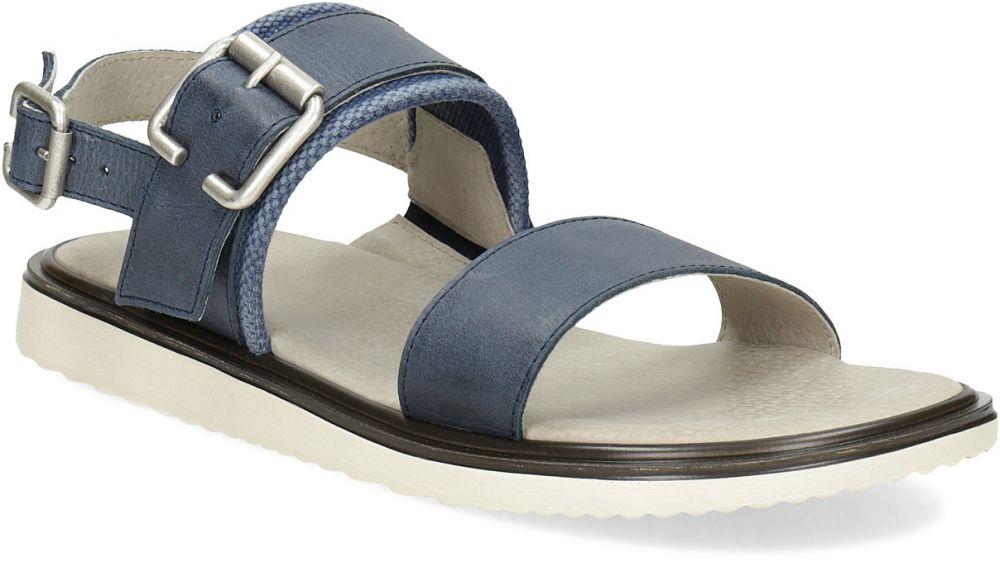 e43c4540a9e2e Pánske modré kožené sandále značky Baťa - Lovely.sk