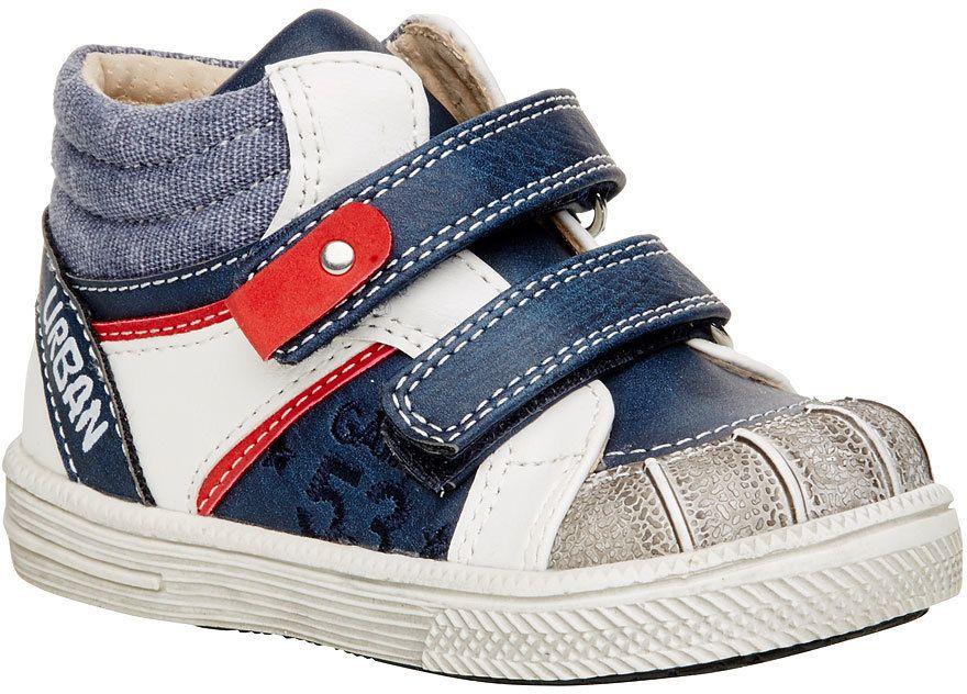 6e43245e2e489 Členkové topánky na suchý zips značky MINI B - Lovely.sk