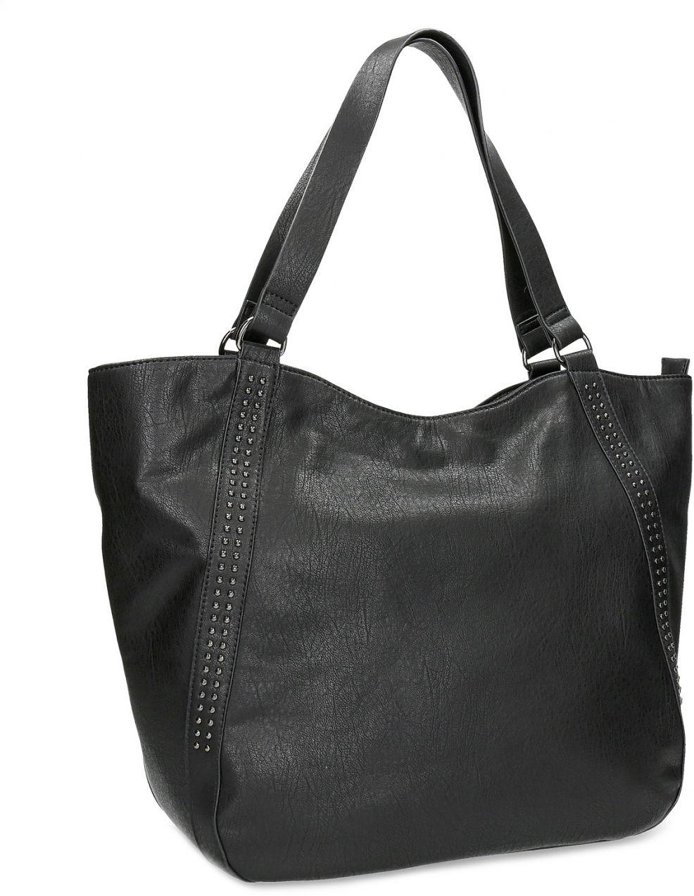 Čierna dámska kabelka s prešitím značky Baťa - Lovely.sk 04b1071820b