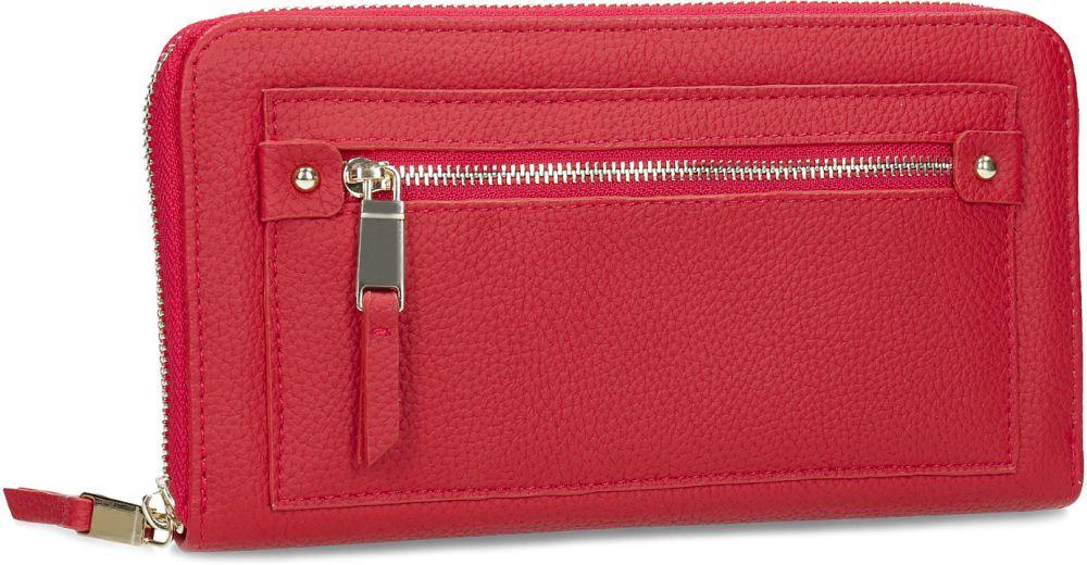 Dámska červená peňaženka so zipsom značky Baťa - Lovely.sk 5c5f92bdf1e