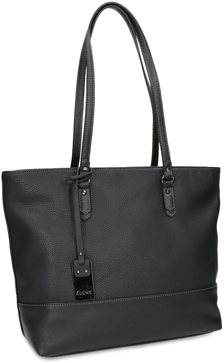 46d54378e7 Čierna kabelka shopper bag značky Gabor bags - Lovely.sk