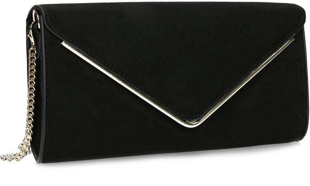 025f9ae9cb Čierna listová kabelka so zlatou retiazkou značky Baťa - Lovely.sk