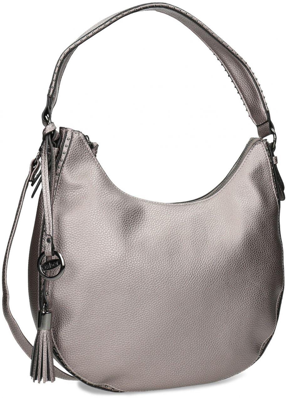 5b184d4e87 Strieborná kabelka s ramenným popruhom značky Gabor bags - Lovely.sk