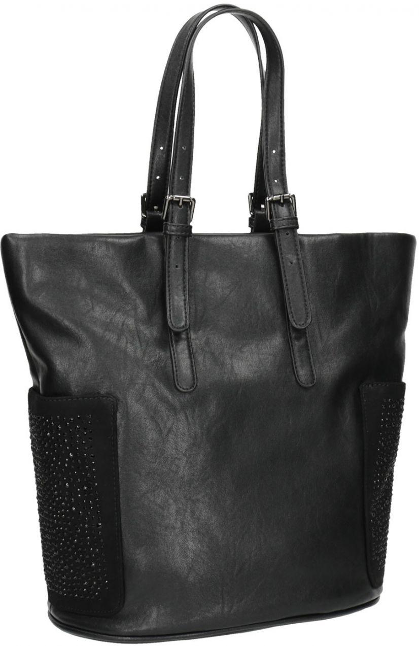 ba00174f7 Dámska čierna kabelka s kamienkami značky Baťa - Lovely.sk