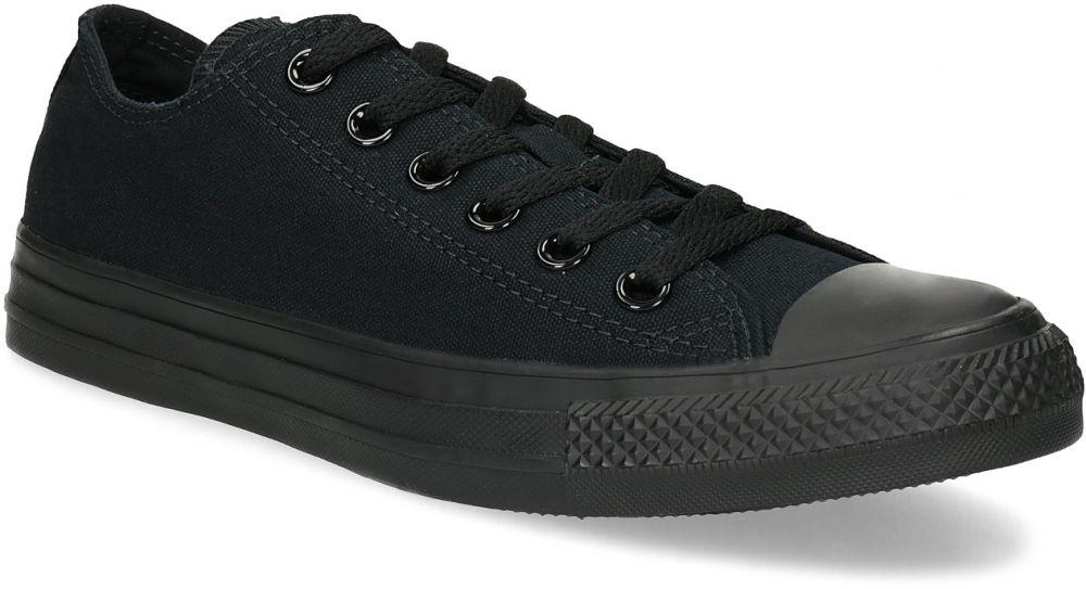 7f604261af2cc Čierne plátené dámske tenisky značky Converse - Lovely.sk