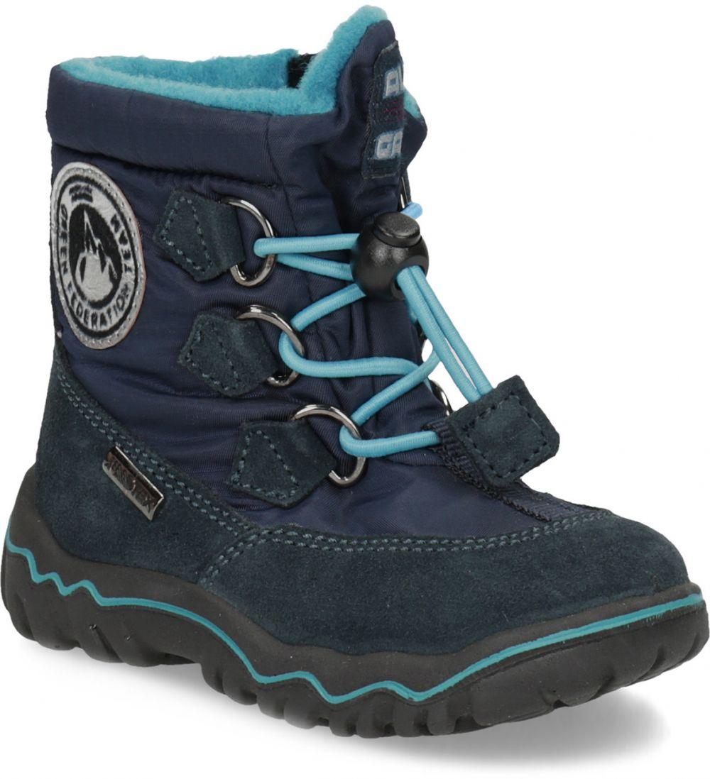 e23b416a4 Detské modré zimné topánky značky Bubblegummers - Lovely.sk