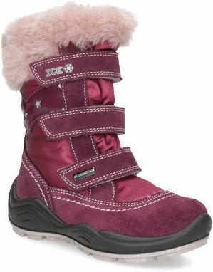 Vínová detská členková obuv s hviezdičkami značky MINI B - Lovely.sk b6ea6adbf5b