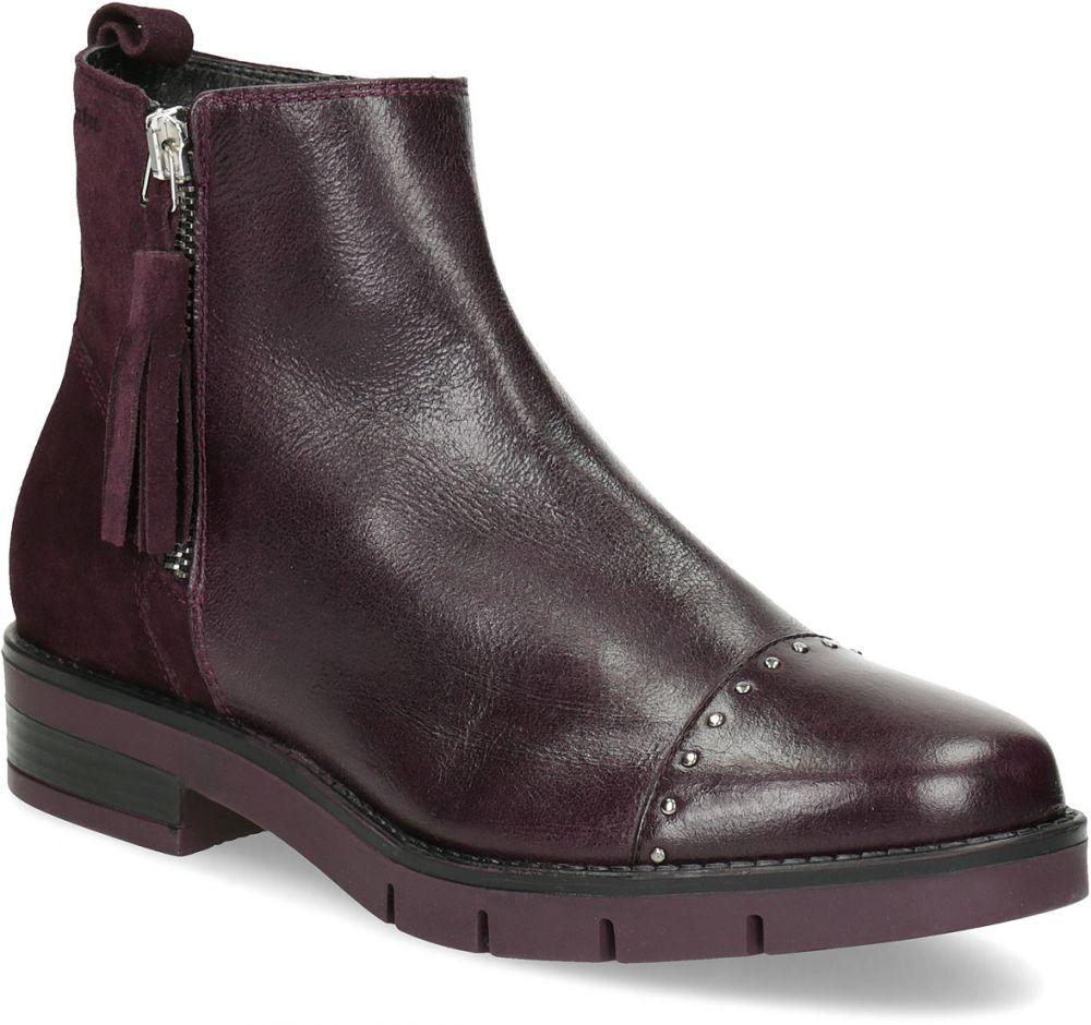 Kožená členková obuv so strapcami značky FLEXIBLE - Lovely.sk 47c021e234f