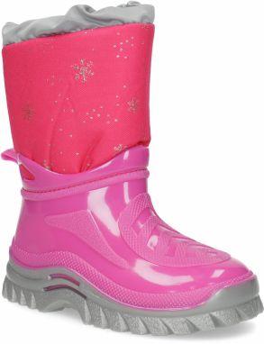 Ružová dievčenská zimná obuv značky MINI B - Lovely.sk 323438dfab9