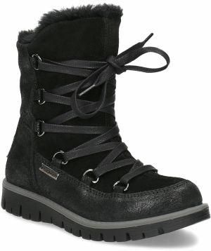 7a1e78e893e7 Detská kožená obuv nad členky značky MINI B - Lovely.sk