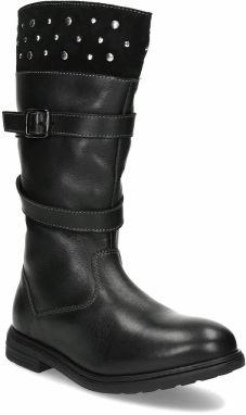 b7f8a0723a Detská kožená obuv nad členky značky MINI B - Lovely.sk