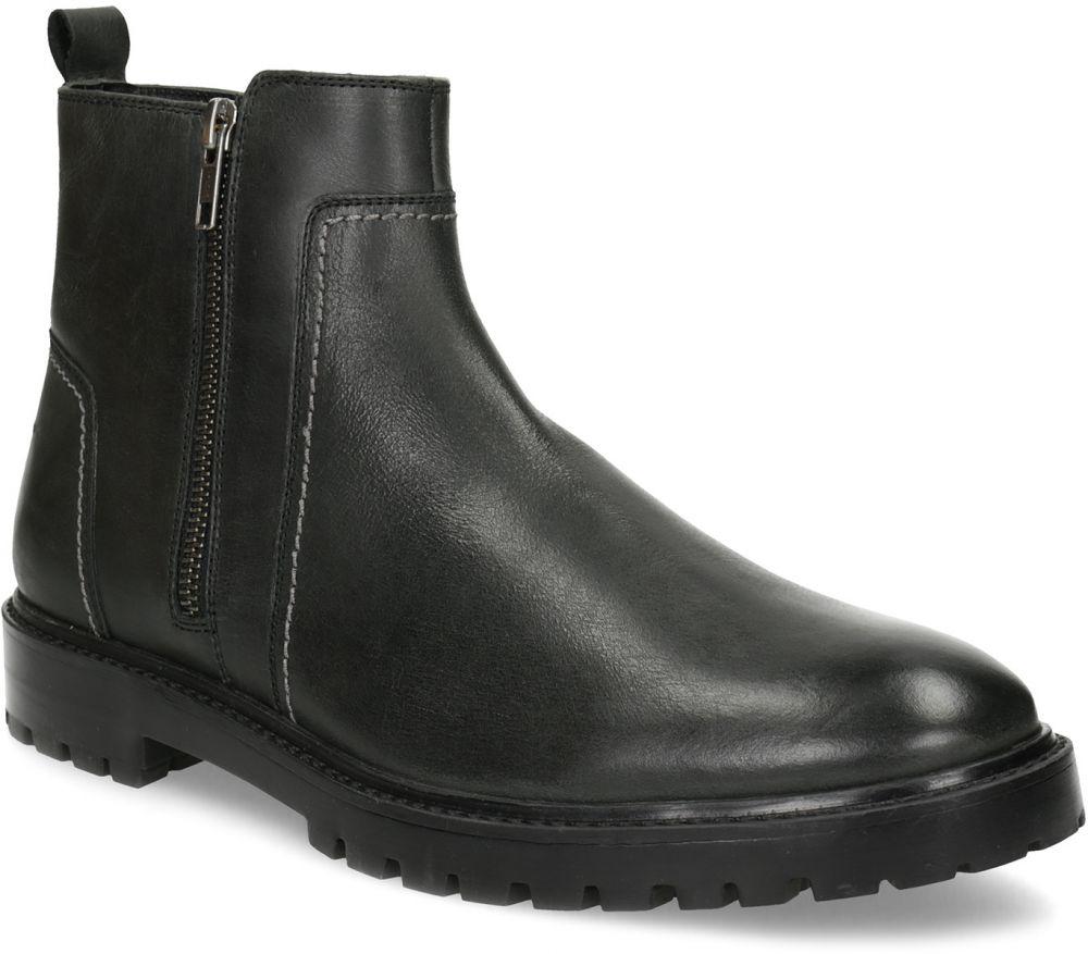 47214de01c934 Zimná pánska čierna členková obuv značky Baťa - Lovely.sk