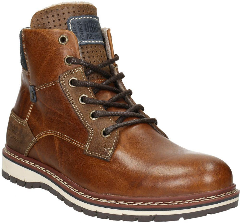 a58e7c4734 Pánska kožená zimná obuv značky Baťa - Lovely.sk