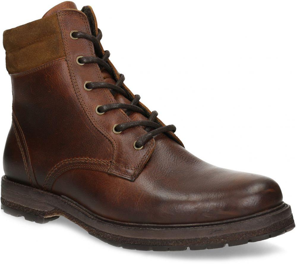 54a67a528129 Hnedá pánska kožená zimná obuv značky Baťa - Lovely.sk