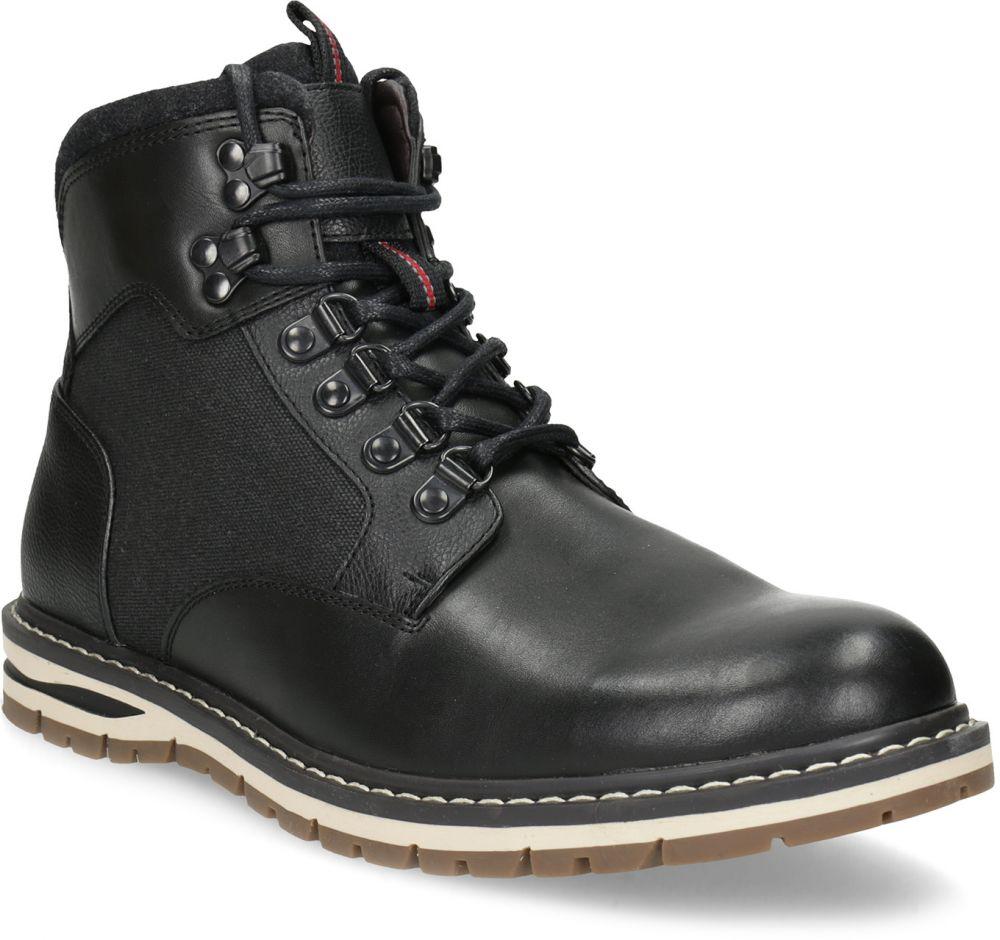 5404f57545acc Čierna pánska členková zimná obuv značky Bata Red Label - Lovely.sk